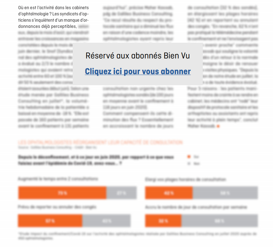 Bien Vu N° 292 - Octobre 2020 - Mon Métier